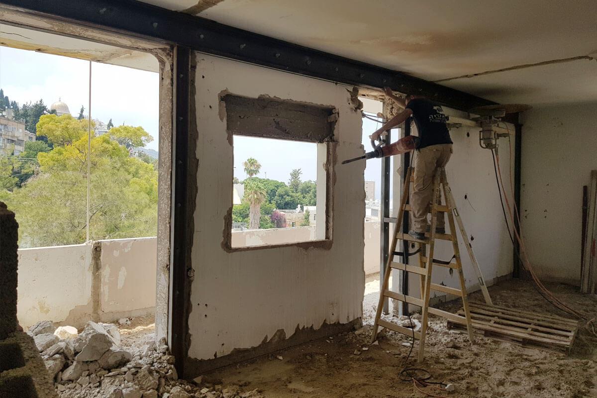 חיזוק ושיפוץ מבנים